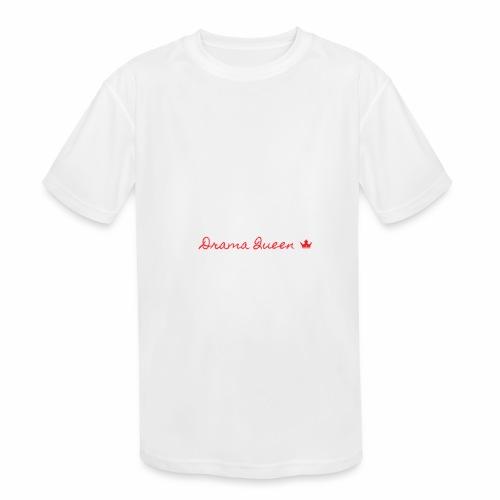 DRAMA QUEEN - Kids' Moisture Wicking Performance T-Shirt