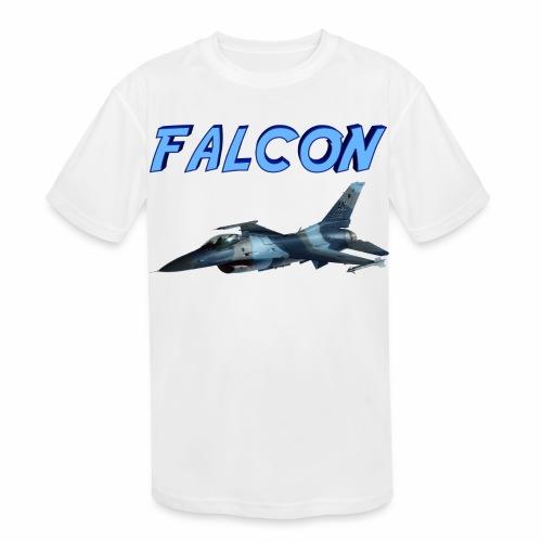 F-16 Fighting Falcon - Kids' Moisture Wicking Performance T-Shirt