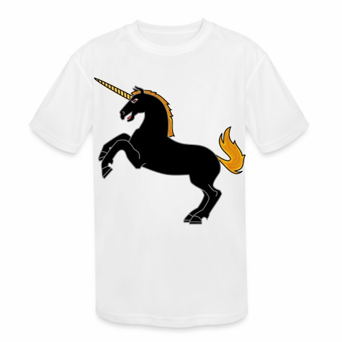 Unicorn - Kids' Moisture Wicking Performance T-Shirt