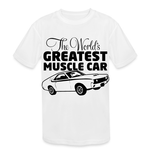 Greatest Muscle Car - Javelin - Kids' Moisture Wicking Performance T-Shirt