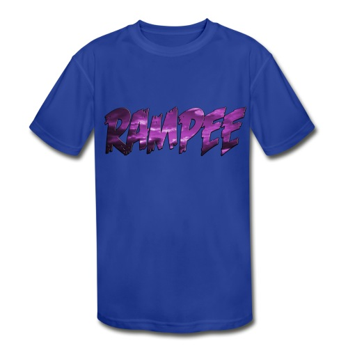 Purple Cloud Rampee - Kids' Moisture Wicking Performance T-Shirt
