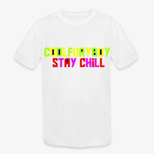 CoolFuryBoy - Kids' Moisture Wicking Performance T-Shirt