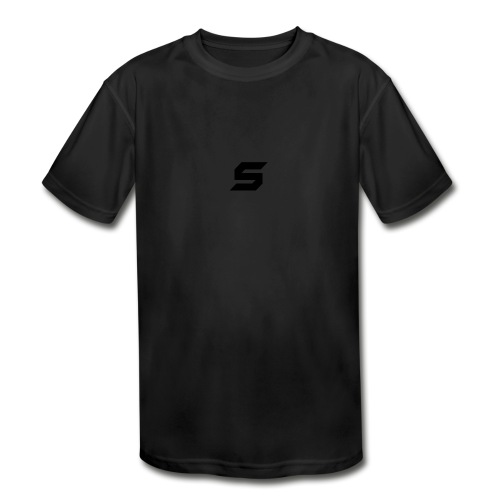 A s to rep my logo - Kids' Moisture Wicking Performance T-Shirt