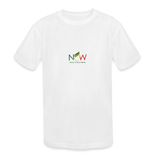 Ncw Small Logo - Kids' Moisture Wicking Performance T-Shirt