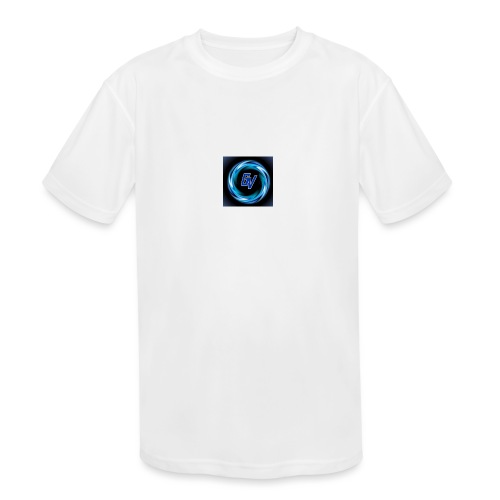 MY YOUTUBE LOGO 3 - Kids' Moisture Wicking Performance T-Shirt