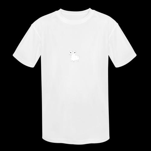 LOOT LLAMA THREE HEADS HYDRA - Kids' Moisture Wicking Performance T-Shirt
