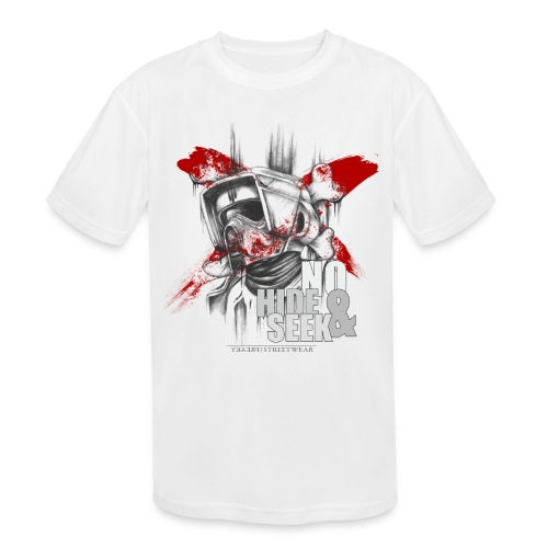 No hide & Seek - Kids' Moisture Wicking Performance T-Shirt