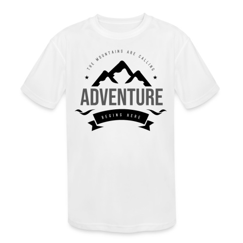The mountains are calling T-shirt - Kids' Moisture Wicking Performance T-Shirt