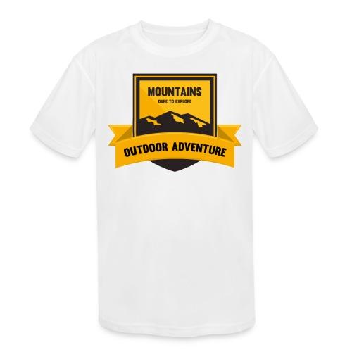 Mountains Dare to explore T-shirt - Kids' Moisture Wicking Performance T-Shirt