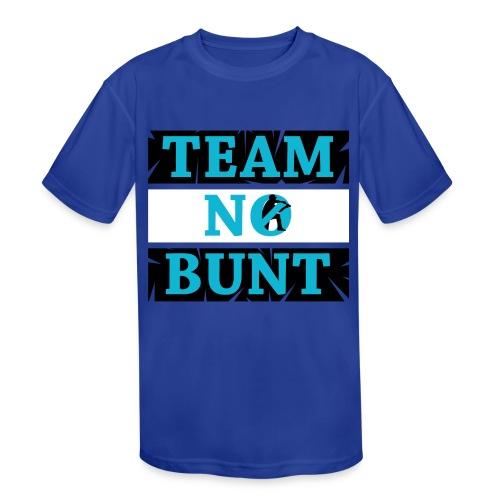 Team No Bunt - Kids' Moisture Wicking Performance T-Shirt