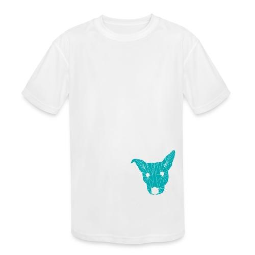ruckusgeo turquoise - Kids' Moisture Wicking Performance T-Shirt