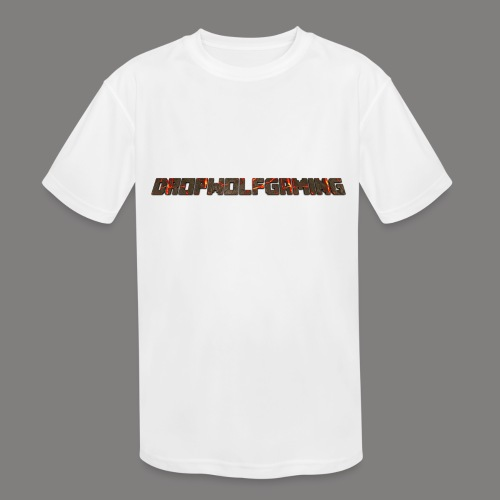 DropWolfGaming - Kids' Moisture Wicking Performance T-Shirt