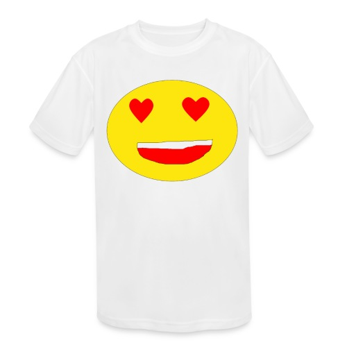 i_love_you - Kids' Moisture Wicking Performance T-Shirt