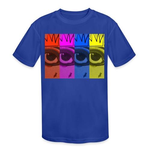 Eye Queen - Kids' Moisture Wicking Performance T-Shirt