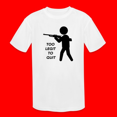 OxyGang: Too Legit To Quit Products - Kids' Moisture Wicking Performance T-Shirt