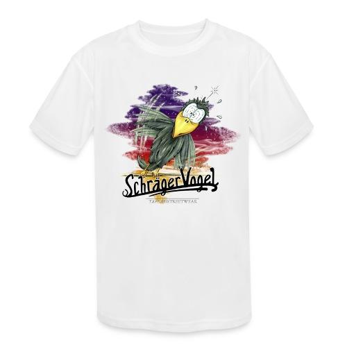 schräger Vogel - Kids' Moisture Wicking Performance T-Shirt