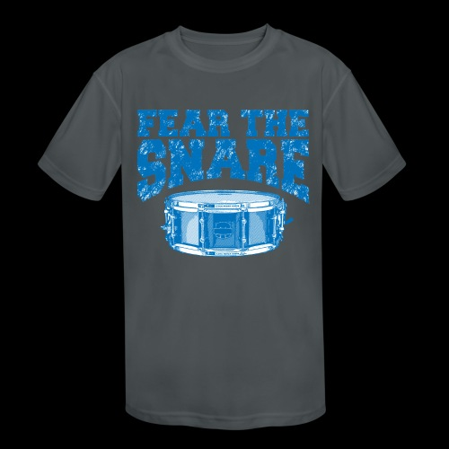 FEAR THE SNARE - Kids' Moisture Wicking Performance T-Shirt