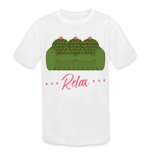 Relax! - Kids' Moisture Wicking Performance T-Shirt