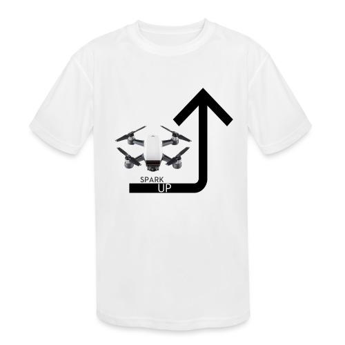 Spark Up - Kids' Moisture Wicking Performance T-Shirt