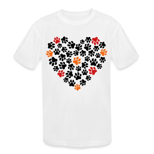 Animal Love - Kids' Moisture Wicking Performance T-Shirt