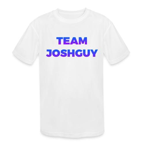 Team JoshGuy - Kids' Moisture Wicking Performance T-Shirt