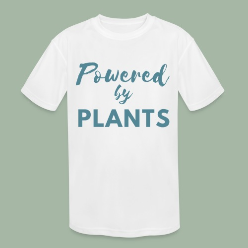 Powered by Plants - Kids' Moisture Wicking Performance T-Shirt