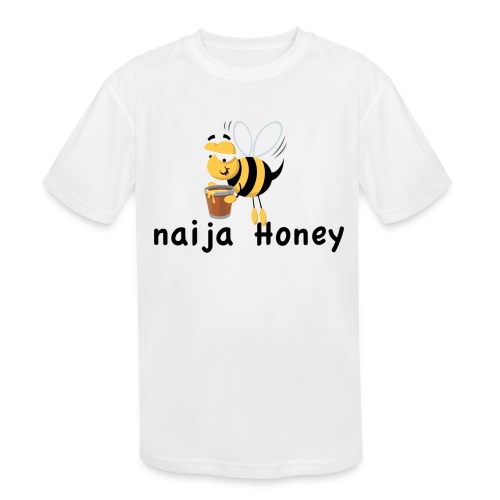 naija honey... - Kids' Moisture Wicking Performance T-Shirt