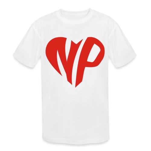 np heart - Kids' Moisture Wicking Performance T-Shirt