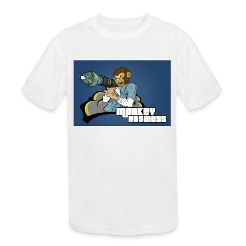 MonkeyBuisness - Kids' Moisture Wicking Performance T-Shirt