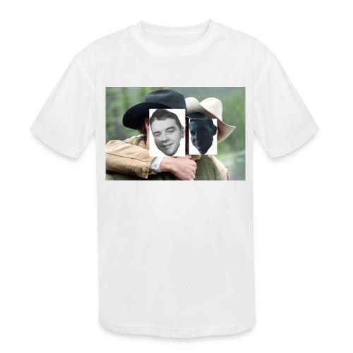 Darien and Curtis Camping Buddies - Kids' Moisture Wicking Performance T-Shirt