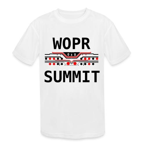 WOPR Summit 0x0 RB - Kids' Moisture Wicking Performance T-Shirt