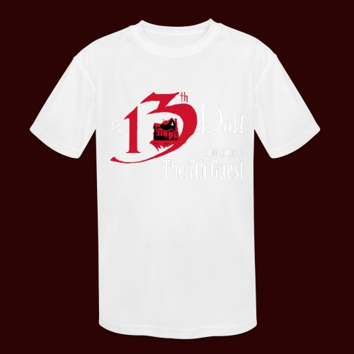 The 13th Doll Logo - Kids' Moisture Wicking Performance T-Shirt