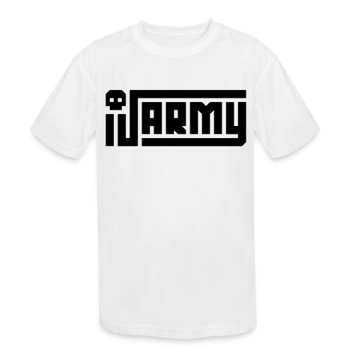 iJustine - iJ Army Logo - Kids' Moisture Wicking Performance T-Shirt