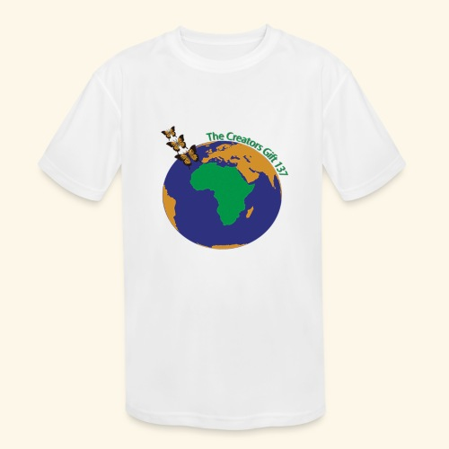 The CG137 logo - Kids' Moisture Wicking Performance T-Shirt