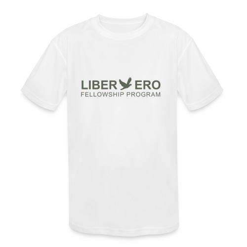 LiberEro logo - Kids' Moisture Wicking Performance T-Shirt