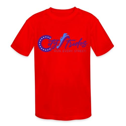 Full Logo - Kids' Moisture Wicking Performance T-Shirt