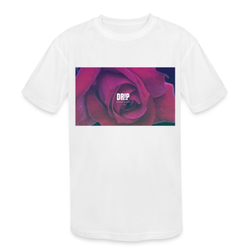 DR!P co. - Kids' Moisture Wicking Performance T-Shirt