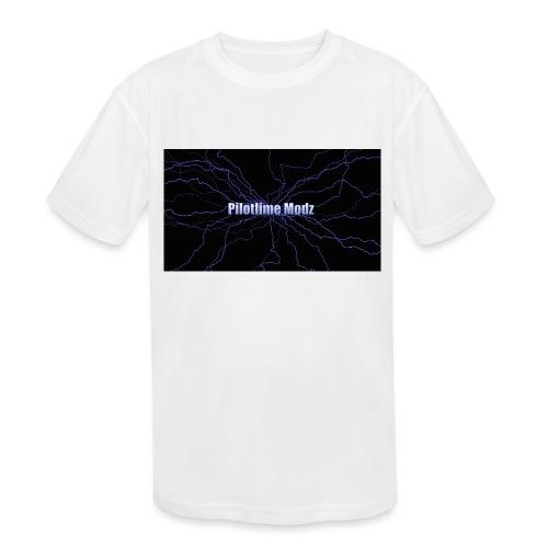 backgrounder - Kids' Moisture Wicking Performance T-Shirt