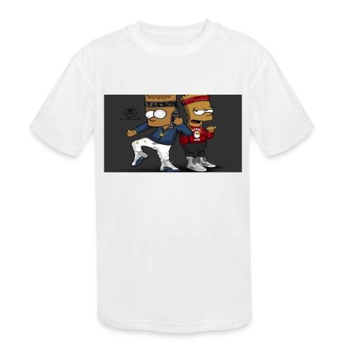 Sweatshirt - Kids' Moisture Wicking Performance T-Shirt