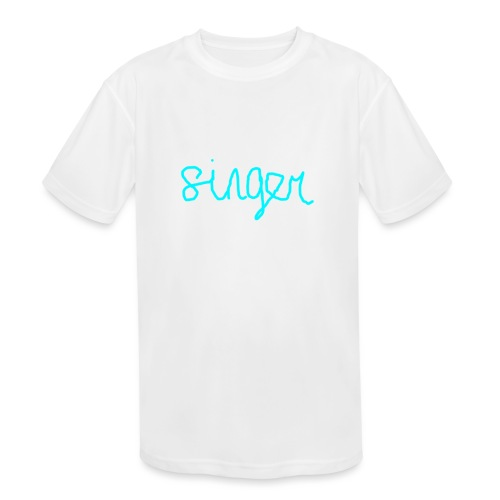 SINGER - Kids' Moisture Wicking Performance T-Shirt