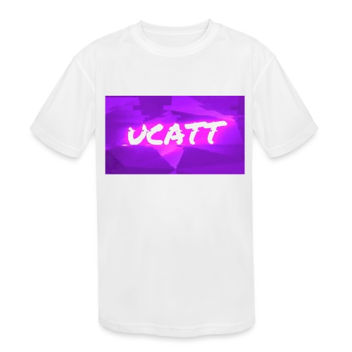 UCATT Logo - Kids' Moisture Wicking Performance T-Shirt