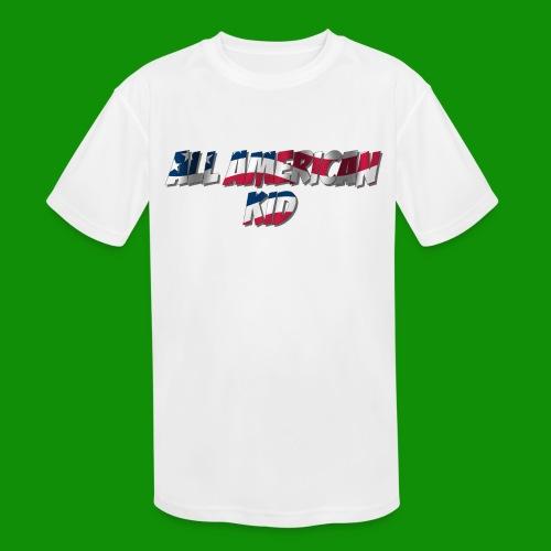 ALL AMERICAN KID - Kids' Moisture Wicking Performance T-Shirt
