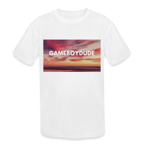 GameBoyDude merch store - Kids' Moisture Wicking Performance T-Shirt