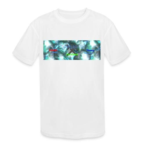 Team10Jr Capitans - Kids' Moisture Wicking Performance T-Shirt
