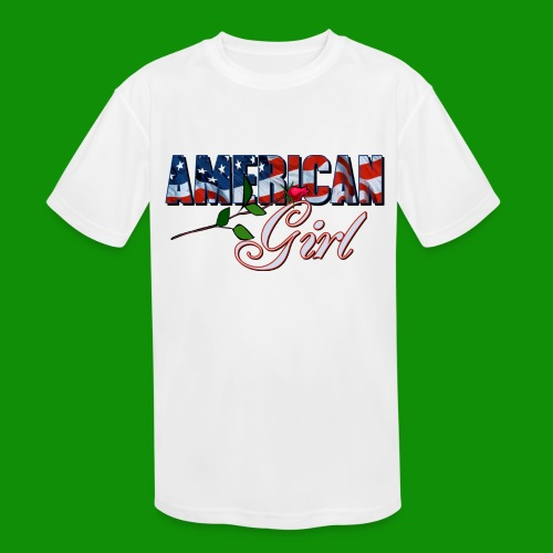 AMERICAN GIRL - Kids' Moisture Wicking Performance T-Shirt