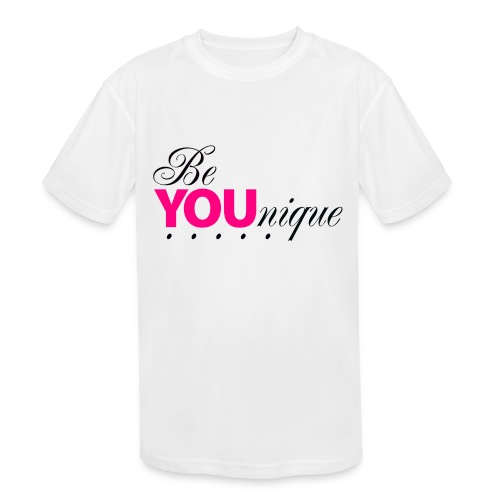Be Unique Be You Just Be You - Kids' Moisture Wicking Performance T-Shirt
