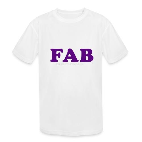 FAB Tank - Kids' Moisture Wicking Performance T-Shirt