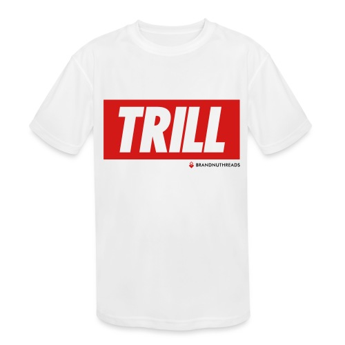 trill red iphone - Kids' Moisture Wicking Performance T-Shirt