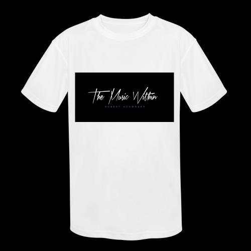 the music within mens hoodie - Kids' Moisture Wicking Performance T-Shirt