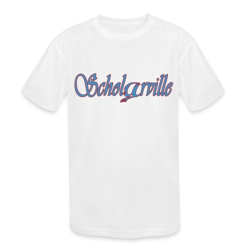 Welcome To Scholarville - Kids' Moisture Wicking Performance T-Shirt